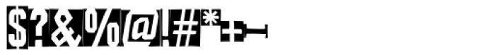 FF Iodine Negative Font OTHER CHARS