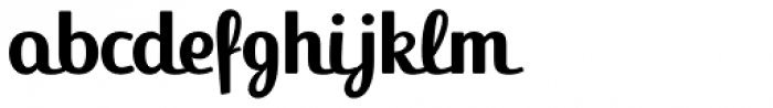 FF Jackie Pro Bold Font LOWERCASE