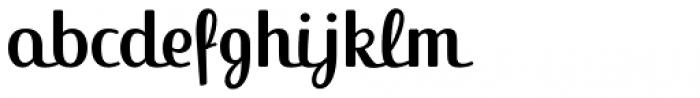FF Jackie Std Regular Font LOWERCASE