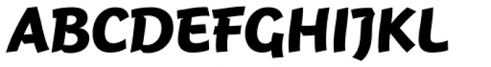 FF Jambono Pro Bold Font UPPERCASE