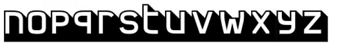 FF Jigger Angled Font LOWERCASE