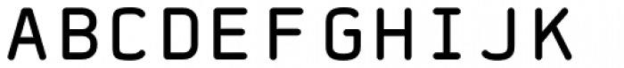 FF Jigger Rounded Front Font UPPERCASE