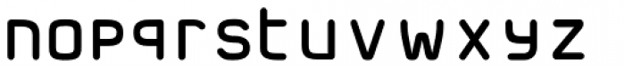 FF Jigger Rounded Front Font LOWERCASE