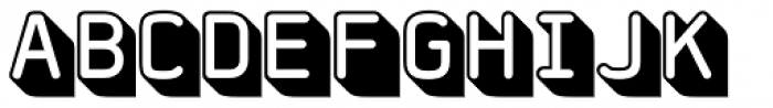 FF Jigger Rounded Font UPPERCASE