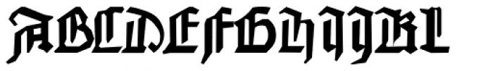 FF Johannes G Font UPPERCASE