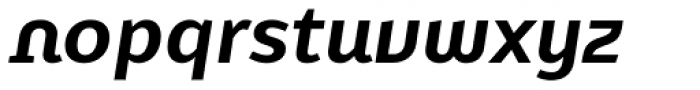 FF Karbid Display OT Bold Italic Font LOWERCASE