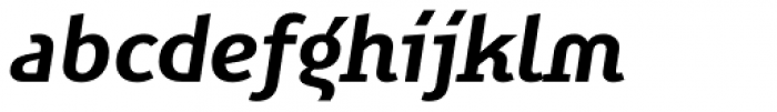 FF Karbid Display Pro Bold Italic Font LOWERCASE