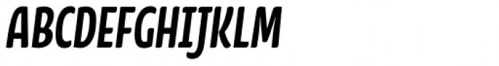 FF Kava OT Bold Italic Font UPPERCASE