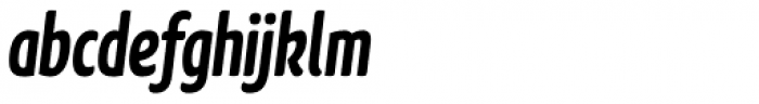 FF Kava OT Bold Italic Font LOWERCASE