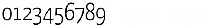 FF Kava OT Light Font OTHER CHARS