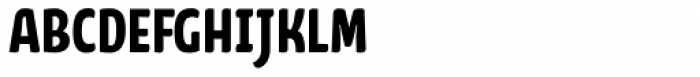 FF Kava Pro Bold SC Font LOWERCASE