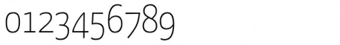 FF Kava Std Thin SC Font OTHER CHARS