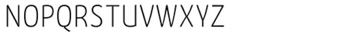 FF Kava Std Thin SC Font LOWERCASE