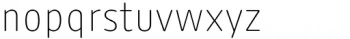 FF Kaytek Rounded Thin Font LOWERCASE