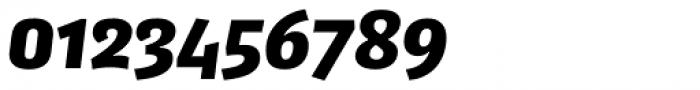 FF Kaytek Sans Black Italic Font OTHER CHARS
