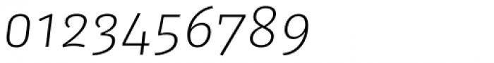 FF Kaytek Sans Light Italic Font OTHER CHARS