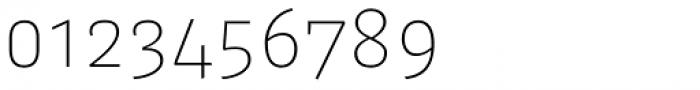 FF Kaytek Sans Thin Font OTHER CHARS