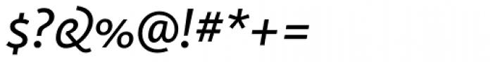 FF Kievit OT Book Italic Font OTHER CHARS
