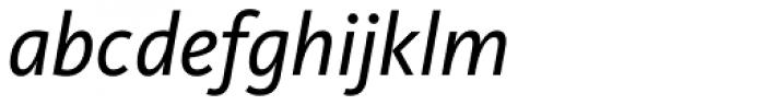FF Kievit OT Book Italic Font LOWERCASE