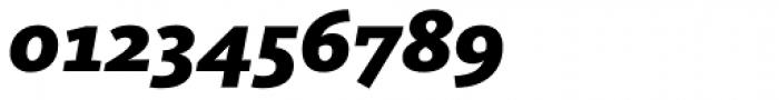 FF Kievit Slab OT Black Italic Font OTHER CHARS