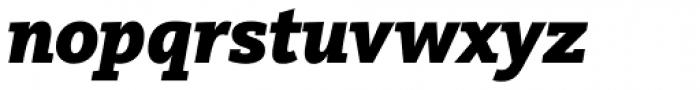 FF Kievit Slab OT Black Italic Font LOWERCASE