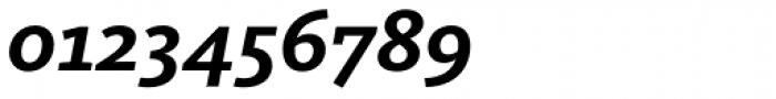 FF Kievit Slab OT Bold Italic Font OTHER CHARS