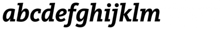 FF Kievit Slab OT Bold Italic Font LOWERCASE