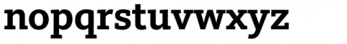 FF Kievit Slab OT Bold Font LOWERCASE