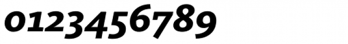 FF Kievit Slab OT ExtraBold Italic Font OTHER CHARS