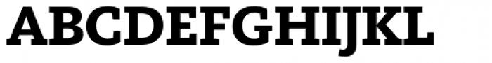FF Kievit Slab OT ExtraBold Font UPPERCASE