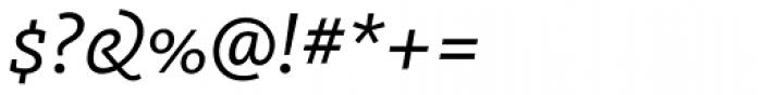 FF Kievit Slab OT Italic Font OTHER CHARS