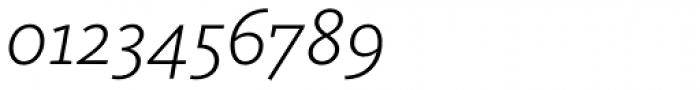 FF Kievit Slab OT Light Italic Font OTHER CHARS