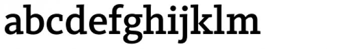 FF Kievit Slab OT Medium Font LOWERCASE