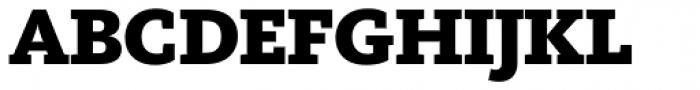 FF Kievit Slab Pro Black Font UPPERCASE