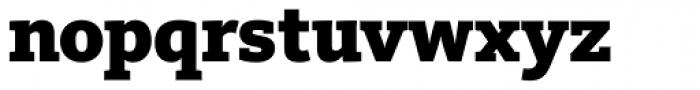 FF Kievit Slab Pro Black Font LOWERCASE