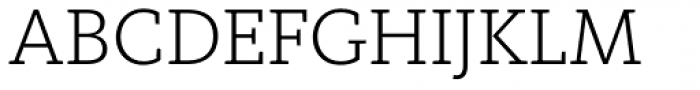 FF Kievit Slab Pro Light Font UPPERCASE