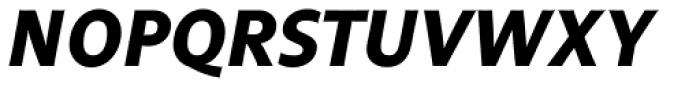 FF Legato OT Bold Italic Font UPPERCASE