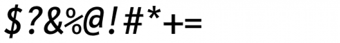 FF Letter Gothic Mono OT Italic Font OTHER CHARS