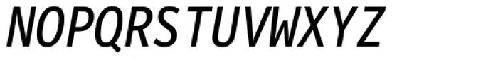 FF Letter Gothic Mono OT Italic Font UPPERCASE