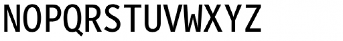 FF Letter Gothic Mono Pro Regular Font UPPERCASE