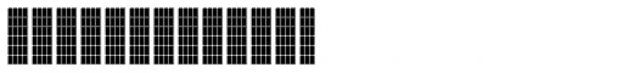 FF Luggagetag Grid Font LOWERCASE