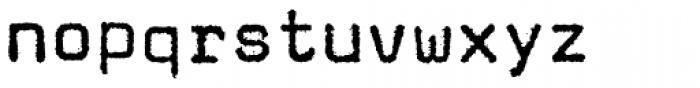 FF Magda OT Book Font LOWERCASE