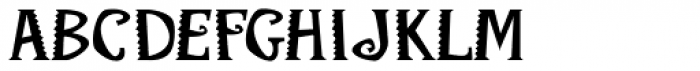 FF Mambo OT Bold Font UPPERCASE