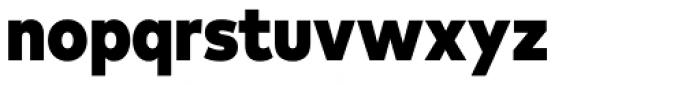 FF Mark OT Narrow Black Font LOWERCASE
