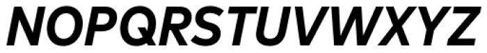 FF Mark OT Narrow Bold Italic Font UPPERCASE