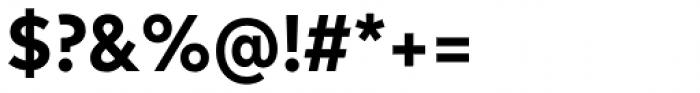 FF Mark OT Narrow Bold Font OTHER CHARS