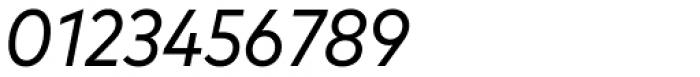 FF Mark OT Narrow Book Italic Font OTHER CHARS