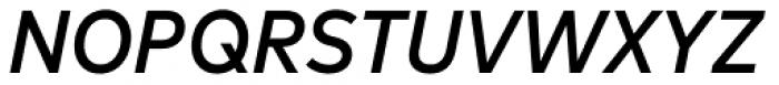FF Mark OT Narrow Medium Italic Font UPPERCASE