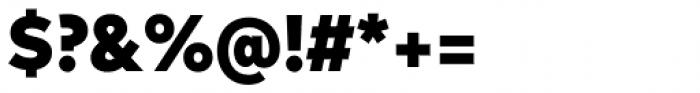 FF Mark Pro Narrow Black Font OTHER CHARS