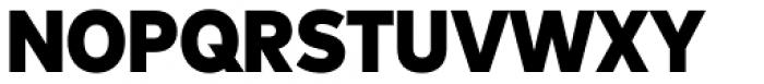 FF Mark Pro Narrow Black Font UPPERCASE